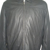 New Cole Haan Goatskin Black Jacket Size M  Super Hot Rare Awesome Unique Photo