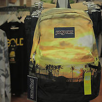 New Colorful Jansport High Stakes Backpack (Tropical Sunset) Photo