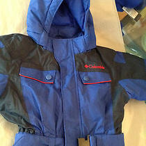 New Columbia Boys One-Piece Snow Suit - 2t Photo