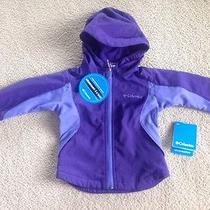 New Columbia Girls Sunshine Peak Hooded Softshell Jacket 2t Photo