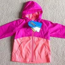 New Columbia Girls Wind Winner Hooded Softshell Jacket 2t Photo