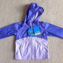 New Columbia Girls Wind Winner Hooded Softshell Jacket 4t Photo