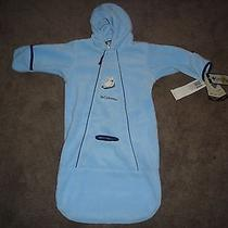 New Columbia Infant Baby Snowsuit Glacier Bag Bunting Car Seat Stroller 12 Mon   Photo