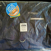 New Columbia Pfg Low Drag Mens Shorts Size L (36 37 38 39) Fishing Navy Blue Nwt Photo