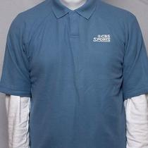 New Columbia Sportswear Xco Authentic Fit Mens Size Small Liquid Blue Polo Shirt Photo