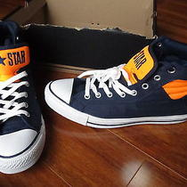 New Converse All Star Ct Pc Primo Hi Shoes Mens Size 11 Navy Orange 134687f Photo