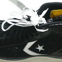New Converse Contain Fit Technology Black Basketball Shoes Size 18 Photo
