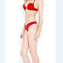 New Cosabella Lingerie Red Newport Thong Medium Large Undergarment Photo