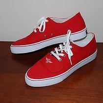 New Creative Recreation Cesario Red Keds Sneakers Shoes Size 9.5 Photo