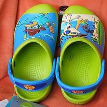 New Crocs Disney Phineas and Ferb Clogs 10/11 Authentic Photo