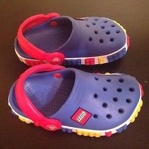 New Crocs Lego Clogs 8/9 Children Toddler Boy Photo