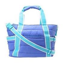 New - Crocs Retro Quilt Diaper Bag - Blue - Free Shipping... Photo