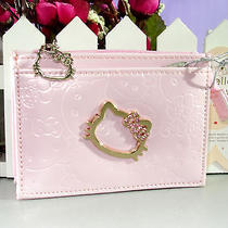 New Cut Hellokitty Coins Bag With Card Holder Purse Go-241p Photo