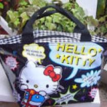New Cute Hello Kitty Lunch Bag Handbag Purse Tote Nice Gift for Kids J2 Photo
