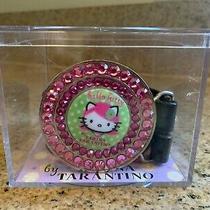 New Deadstock 2003 Sanrio Hello Kitty Pink Head Collection Tarina Tarantino Belt Photo