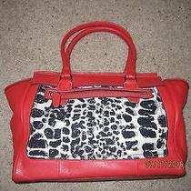 New Designer Coach Candace Ocelot Shopper Tote Purse Handbag Photo