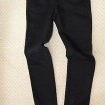 New Designer Costume National Homme Ladies Black Jeans Skinny W36 Bnwt Photo