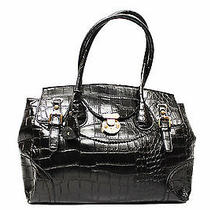 New Designer Croc Print Faux Leather Womens Tote Shoulder Bag Ladies Handbag Photo