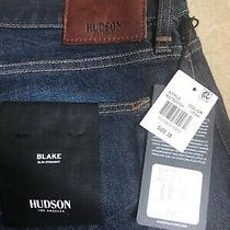 New Designer Men's Hudson Jeans Size 38  195  Photo