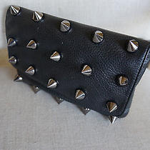 New Deux Lux Empire Strikes Back Spike Black Clutch Anthropologie 115 Photo