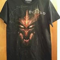 New Diablo Iii 3 Logo Adult Small Black T-Shirt Blizzard Fantasy Game Tee Photo