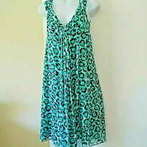 Newdiane Von Furstenberg Sz 4 Silk Knit Dress Multicolor Photo