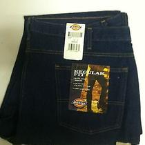 New Dickies 9393rnb Regular Fit Jeans 44x32 Photo