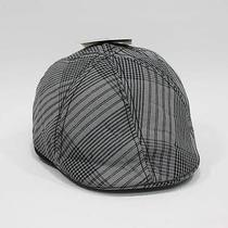 New Dickies Gray & Black Plaid Reversible Ivy Cap Newsboy Disguise Best Gift Photo