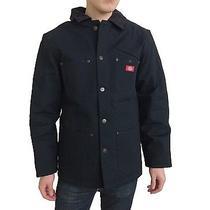 New Dickies Men's Big Tall Rigid Denim Blanket Lined Work Coat Barn Jacket M-5xl Photo