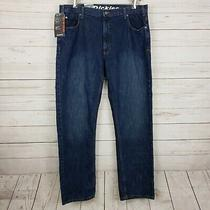 New Dickies Mens Jeans Straight Leg Blue Cotton Denim 38x32 Regular Fit Nwts Photo