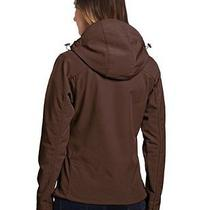 New Dickies Women's Softshell Hooded Jacket Chocolate Brown X-Large Photo