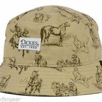 New Dickies Work Wear Western Convo Bucket Style Fishing Hat  L/xl  B10 Photo