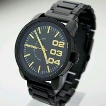 New Diesel Dz1566 Black X Gold Men Watch Photo