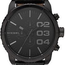 New Diesel Dz4216 Calf Skin Quartz With Black Dial Men's Watch Photo