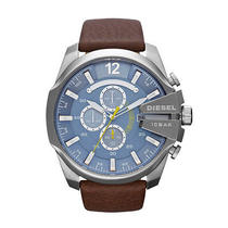 New Diesel Dz4281 Brown Mega Chief Chronograph Men's Watch Photo