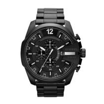 New Diesel Dz4283 Maga Chief Black Ion Plated Quartz Men's Watch Photo