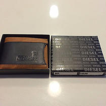 New Diesel Leather 100% Leather Wallet Photo