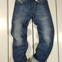New Diesel Men's Jeans W26 L30 Larkee 0r83p Regular Straight Blue Photo