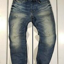 New Diesel Men's Jeans W30 L32 Larkee-Beex 0857m Regular Tapered Blue Photo