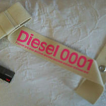 New   Diesel New Belt   - - - -     Ceinture Neuve  Diesel Photo
