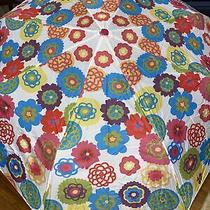 New Discontinued Cynthia Rowley for Avon Flower Umbrella With Cover Photo