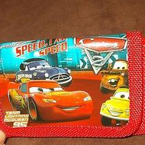 New Disney Cars Trifold Wallet Lightning Mcqueen Mater Doc Hudson & 1 More Photo