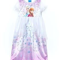 New Disney Frozen Pink Girls Fantasy Pajama Size 8-Beautiful Photo
