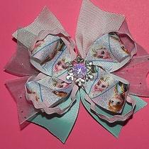 New Disney Frozen Sisters Boutique Hair Bow Photo