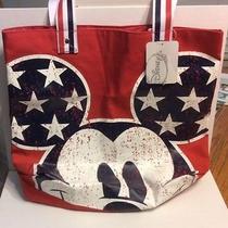 New Disney Mickey Mouse Tote Bag Avon Exclusive    Photo