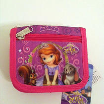 New Disney Sofia the First String Wallet - Sofia Shimmers Photo