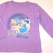 New Disney Store Girl's Lavender Disney Princess Fantasy Tee T-Shirt L (10/12) Photo