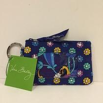 New Disney Vera Bradley - Day Dreaming - Zip Id Case Wallet -Blue Photo