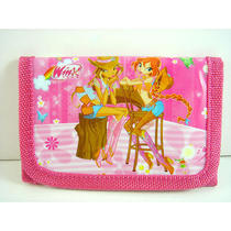 New Disney Winx Club Girl Bloom Layla Stella Triple Fold Wallet Purse Coins Bag Photo