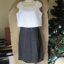 New Dkny Black/white Dress Size S Photo